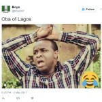 [News] : Nigerians React To Oba Of Lagos Palace Fire Incident