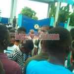 [Education] : Tense Atmosphere At Laspotech As Management Shut School Down Ahead Of The Massive Protest