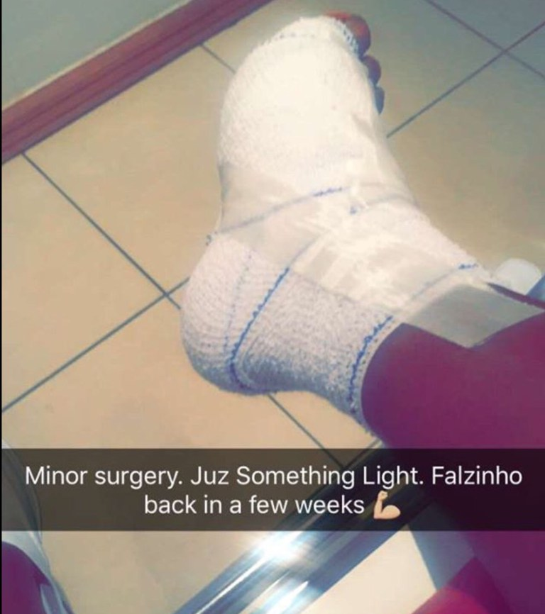 Singer Falz Undergoes Surgery After Sustaining Injuries While Playing Football