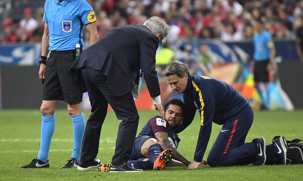 Brazil confirm Dani Alves will miss World Cup due to knee injury