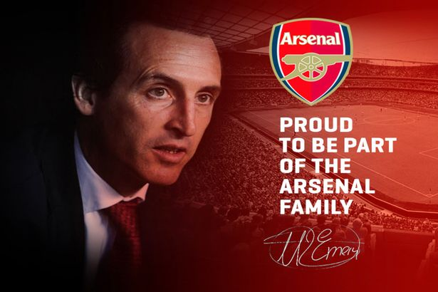 Unai Emery Confirmed New Arsenal Boss
