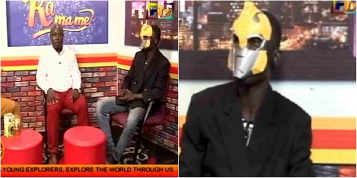 I Lived With Satan For 17 Years, Killed 675 People'- Masked Ghana Pastor (Pix Video)