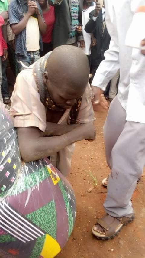 Snake Catches Ugandan Man After Stealing Mattress, Rolls Round His Neck.