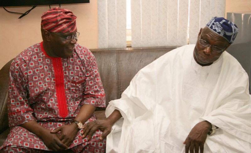 BREAKING: 2019: Obasanjo Forgives Atiku, Endorses Him For President