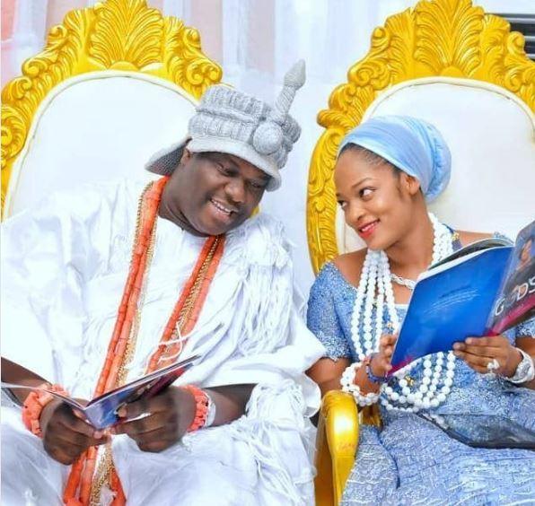 Ooni Of Ife's New Wife, Naomi Oluwaseyi Stuns In New Photo 1