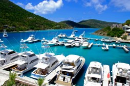 British Virgin Islands, SCRUB Island, Docks/MARINA & mega-YACHTS