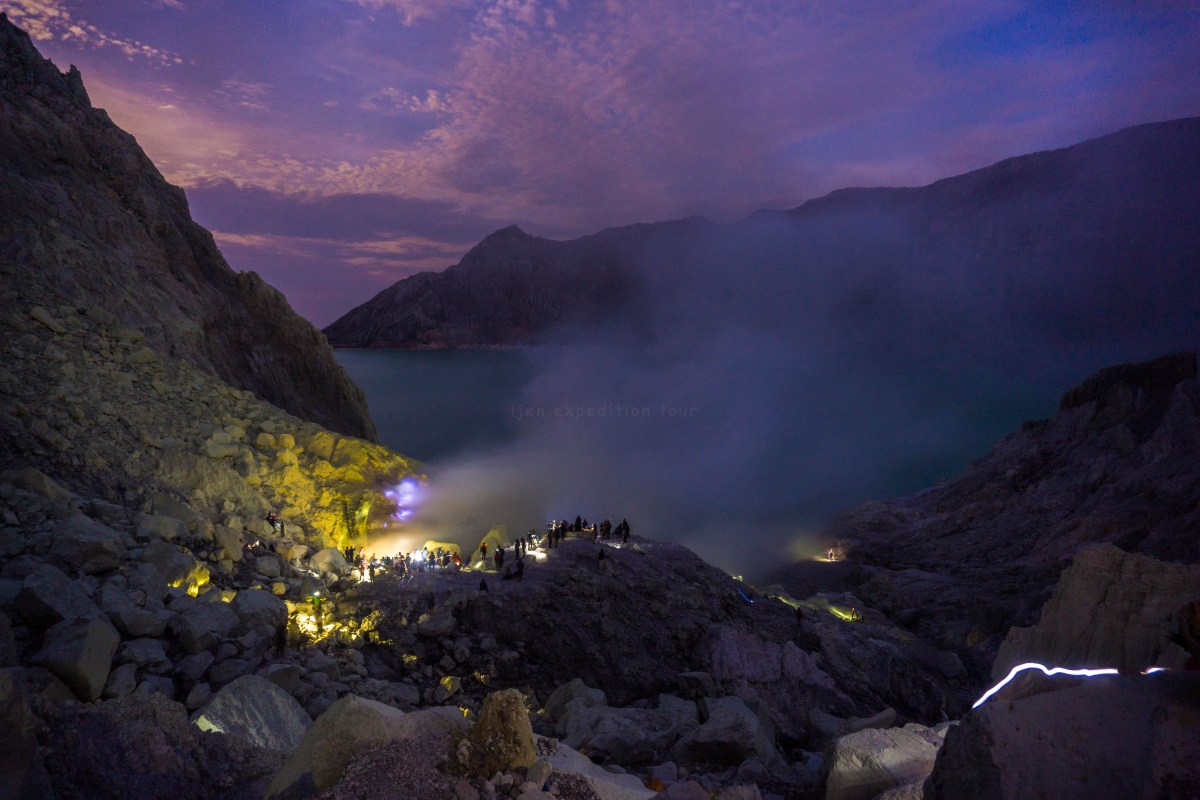 Ijen Crater Tour From Bali 1 Day Night Midnight Bromo Full Destination
