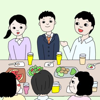 病院の食堂