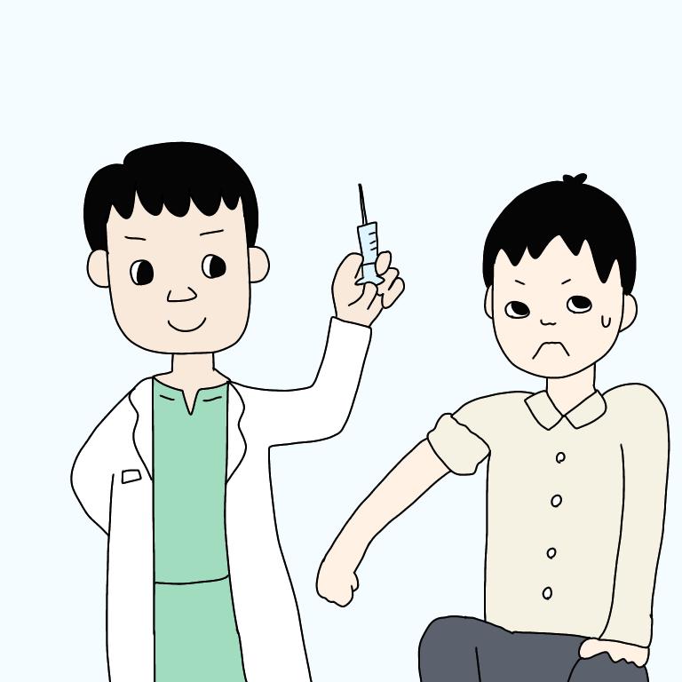 病院職員のインフルエンザ予防接種