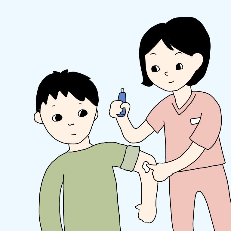 皮膚科軟膏処置