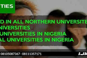 IJMB Universities Website