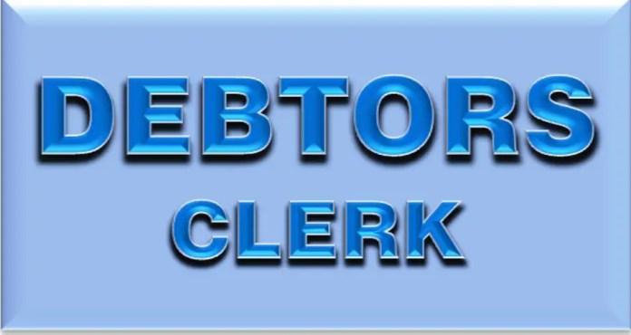 Debtors Clerk