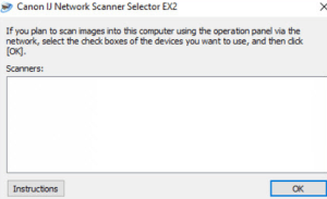 Canon IJ Network Scanner Selector EX2 Download
