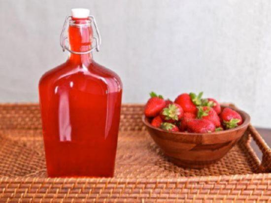 клубничный сироп рецепт с фото