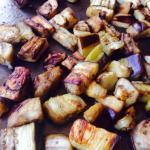 Как обжарить баклажаны кубиками пошаговый рецепт с фото
