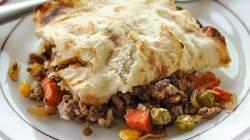 Зимняя запеканка рецепт пастушьего пирога.