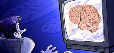 Smegenys televizoriuje
