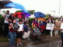 Marcha por Venezuela desde Orlando en el Florida Mall