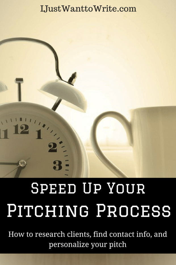 Speed Up Your Pitching Process