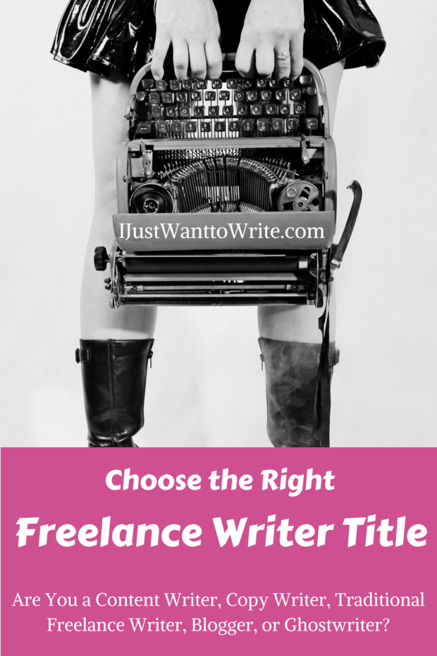 Choose the Right Freelance Writer Title