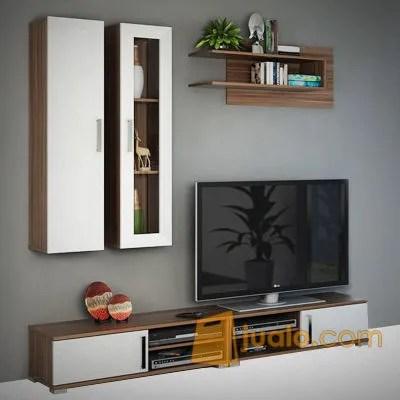 Lemari Tv Wall Unit Mocca Max Tv 42inch Tangerang Jualo