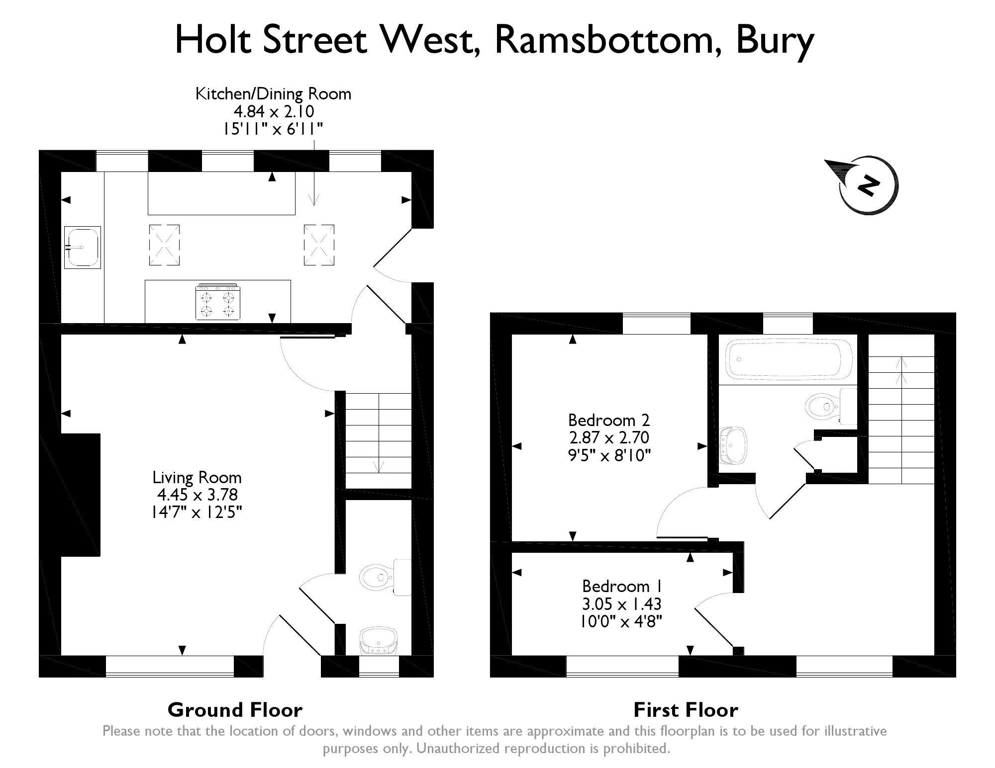 End Of Terrace House For Sale In Holt Street West