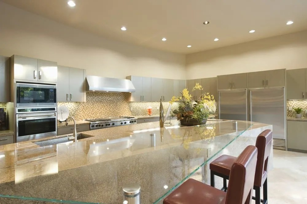 adding recessed lighting in the kitchen