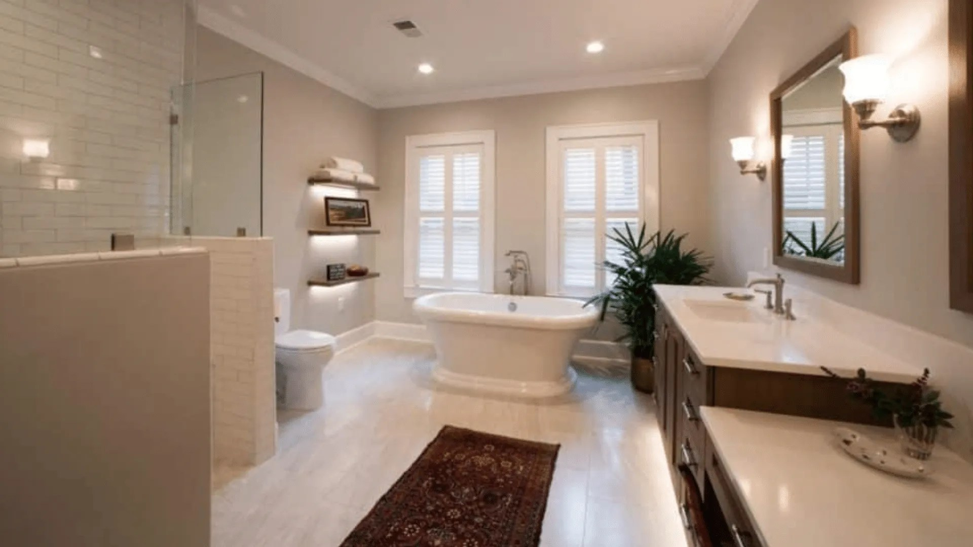 A Dream Master Bath Remodel In Myers Park 85 000
