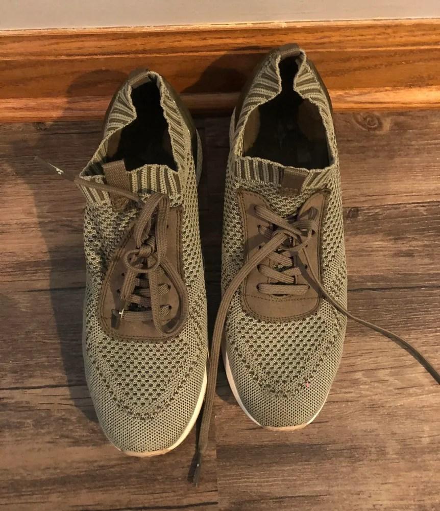 nordstrom rack olive green tennis shoes