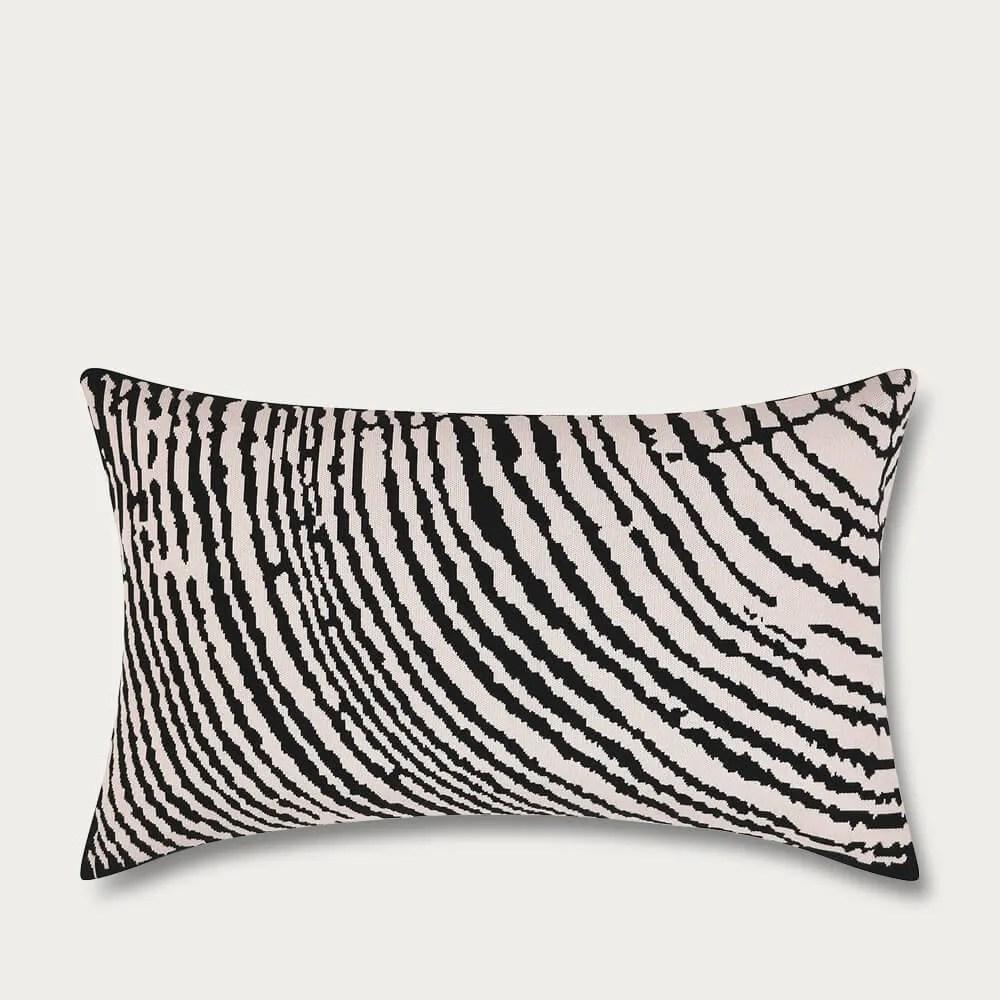 ambar off white wood block rectangle cushion cover