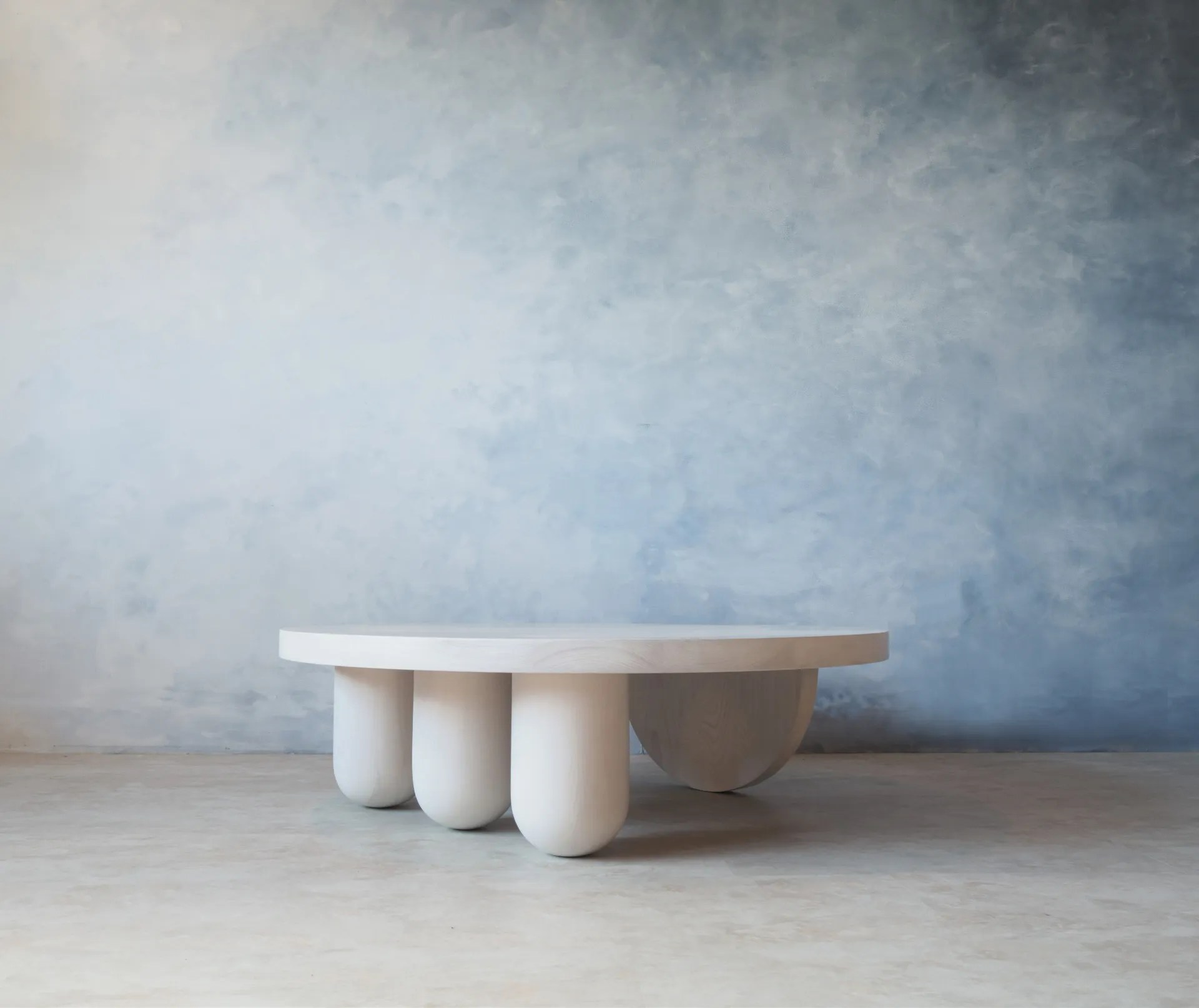 tricolumn coffee table