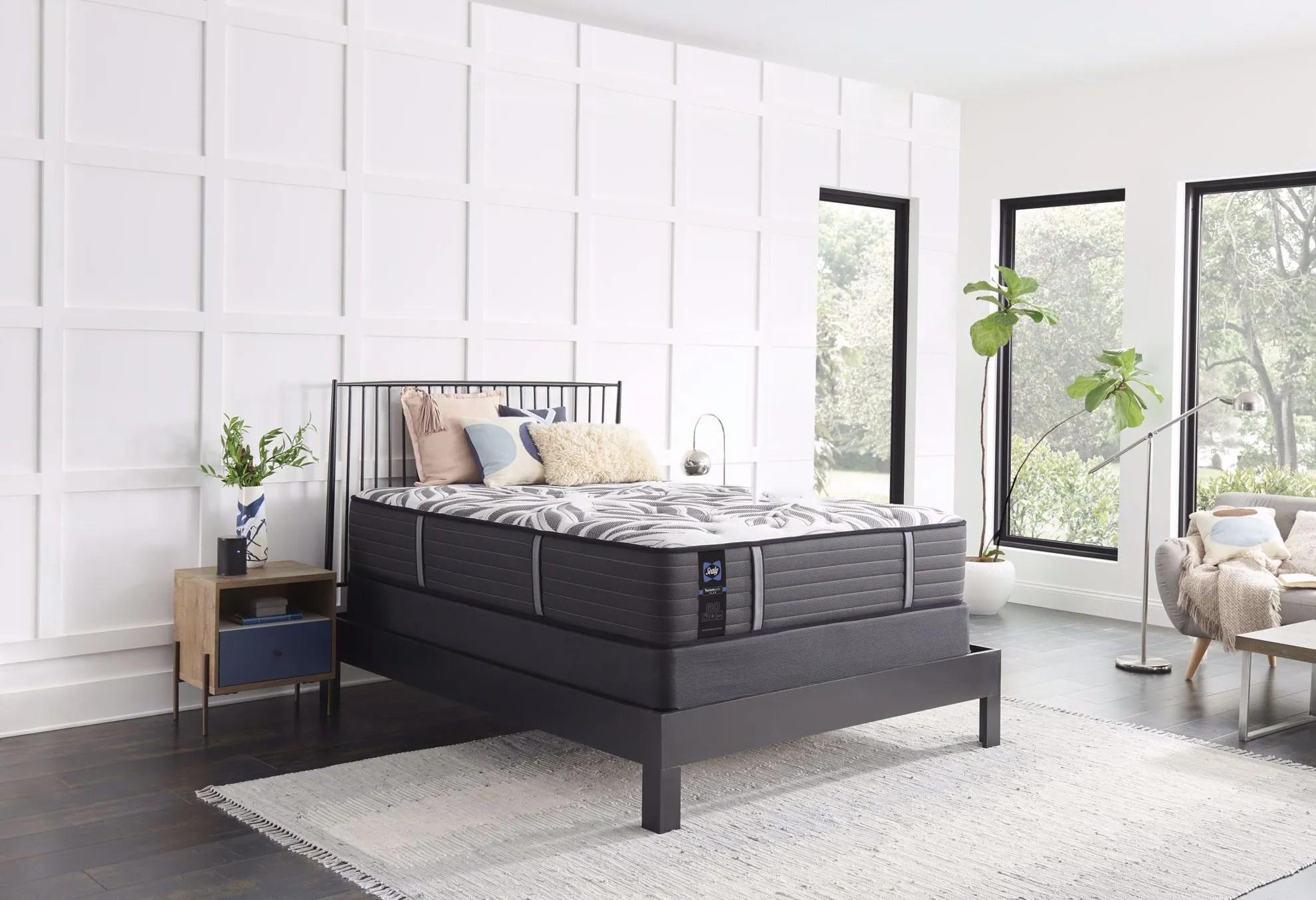 Sealy Posturepedic Plus Exuberant Plush Twin Xl Mattress Set The Furniture Mart