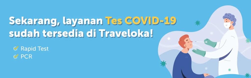 Receiving Funding, Traveloka Provides Drive-Thru Rapid Test