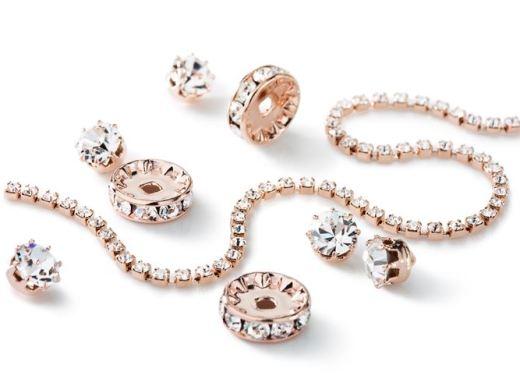 Rose_Gold_Plating_03 | kryształ w metalu do naszywania