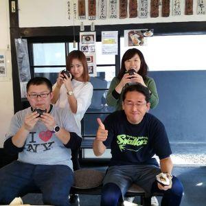 横浜からいらした、同じ会社で仲良しの四人様です左の女性が登山初心者で、初めて御岳山のロックガーデンに連れてきてもらったそうです🏔️右の女性はクロスバイクが趣味の一つだそうです🚵 #御岳山 で検索して、有難い事に炭鳥ikadaをお昼ごはんに選んで下さいました🤗ご来店ありがとうございました http://ikadamitake.com#炭鳥 #蔵 #筏 #ikada #Tokyo #mitake #御岳 #御岳山 #mitakesan #御岳山ロックガーデン #武蔵御嶽神社 #多摩川 #御岳渓谷 #奥多摩フィッシングセンター #奥多摩 #ブドウ山椒 #おにぎり #味玉 #tasty #バイク #ロードバイク #カヌー #カヤック #リバーSUP #デッドエンド #ジムニー #ペット可 #クロスバイク