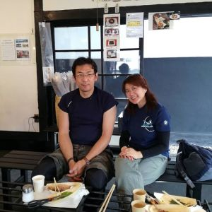 御岳山&大岳山を歩かれて🏔️遅めのお昼ごはんに来て下さったご夫婦ですお友達がFacebookに炭鳥ikadaの事を投稿して下さったそうで、興味を持たれてお越し下さいました ご来店ありがとうございましたhttp://ikadamitake.com営業時間11~17時木曜定休(祭日は営業)#炭鳥 #蔵 #筏 #ikada #Tokyo #mitake #御岳 #御岳山 #mitakesan #御岳山ロックガーデン #武蔵御嶽神社 #多摩川 #御岳渓谷 #奥多摩フィッシングセンター #奥多摩 #ブドウ山椒 #おにぎり #味玉 #tasty #バイク #ロードバイク #カヌー #カヤック #リバーSUP #アルパインクライミング #デッドエンド #ジムニー #ペット可