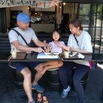 ドライブ中、お立ち寄り下さった親子三人様です娘さんが赤い鼻緒の草履を履いていて、とても可愛かったです引き続き楽しい奥多摩ドライブをお楽しみ下さい ご来店ありがとうございましたhttp://ikadamitake.com営業時間11~17時(夏季)木曜定休(祭日は営業)#炭鳥 #蔵 #筏 #ikada #Tokyo #mitake #御岳 #御岳山 #mitakesan #御岳山ロックガーデン #武蔵御嶽神社 #多摩川 #御岳渓谷 #奥多摩フィッシングセンター #奥多摩 #ブドウ山椒 #おにぎり #味玉 #tasty #バイク #ロードバイク #カヌー #カヤック #リバーSUP #デッドエンド #アルパインクライミング #ジムニー #ペット可  #奥多摩ドライブ