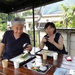 横浜市からいらしたご夫婦です#日原鍾乳洞 の帰りにお立ち寄り下さいました 「鍾乳洞は涼しかったです」との事です🤗年間11℃、夏は天然のクーラーですね️ ご来店ありがとうございました❣️http://ikadamitake.com 営業時間11~17時(夏季)木曜定休(祭日は営業)※むかし鳥、ばくだんは数に限りがございます。1個からお取り置き致します♪Tel.0428-85-8726#炭鳥 #蔵 #筏 #ikada #むかし鳥 #mitake #tokyo #御岳 #御岳山 #御岳山ロックガーデン #武蔵御嶽神社 #多摩川 #御岳渓谷 #ランチ #奥多摩フィッシングセンター #奥多摩 #ブドウ山椒 #おにぎり #味玉 #バイク #ロードバイク #カヌー #カヤック #リバーSUP #ラフティング #デッドエンド #ジムニー #ペット可