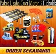 MBH 302 Paket Cuci Motor 3 Hidrolik