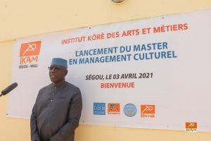 Le lancement du Master en Management Culturel