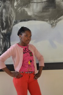 """Pheliswa (15) Manyano High School """" Pheliswa is a shy, beautiful and supportive young lady, she is passionate about helping children and would love to become a nurse when she is older"""""""