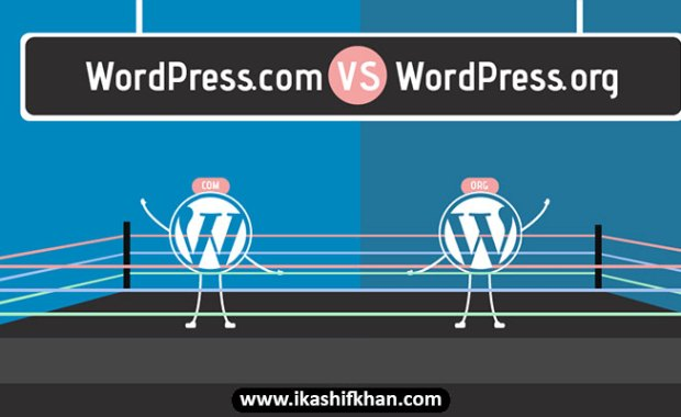 The key Differences between WordPress.Com and WordPress.org