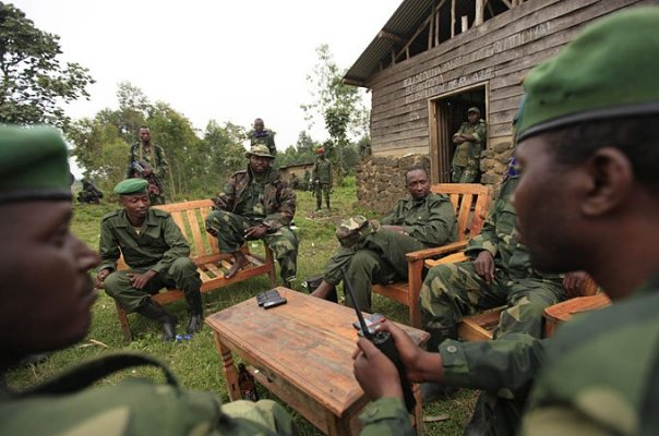 M23 military leaders before their defeat in Congo