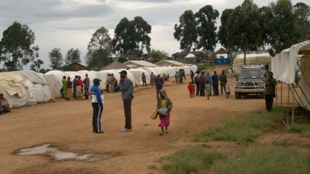 FDLR Ex soldiers in  kanyabayonga camp before the attack