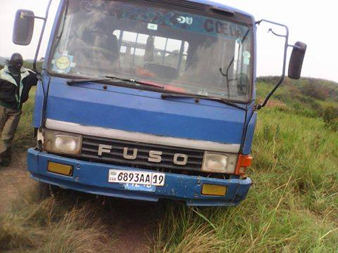 The pickup hired by the RDF criminals