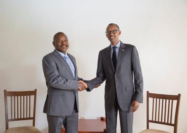 Nkurunziza ahura na Kagame i Butare.