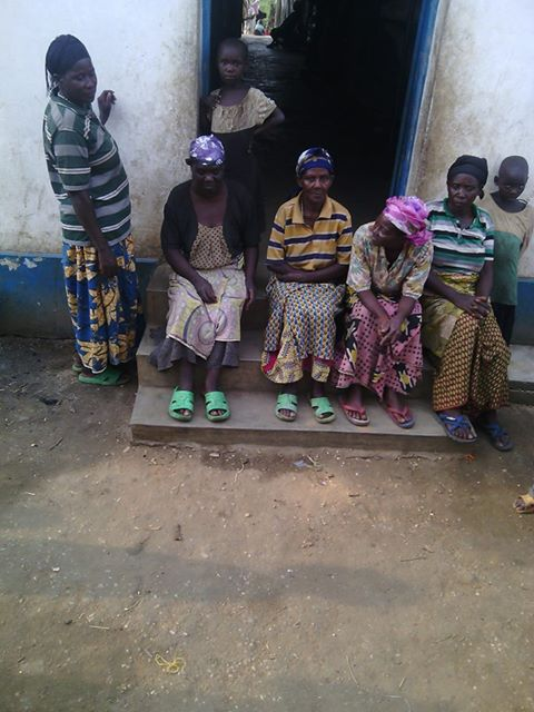 Rwandan refugees who are being starved to death by MONUSCO in the Kisangani transit camp