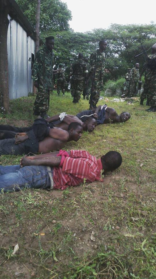 L'armée burundaise a arrëté les assaillants