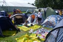 Ons plekje op camping 3