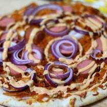 Pizza met zuurkool